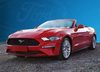 Ford Mustang Convertible 2.3 Automatic Leather Navi